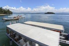 Widok Manukan wyspa, Sabah, Malezja Zdjęcie Royalty Free