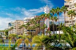 Widok Marbella miejscowość wypoczynkowa Zdjęcie Royalty Free