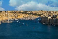 Widok Marina w Malta obraz stock