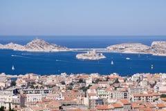 Widok Marsylski, Francja, Europa zdjęcia royalty free