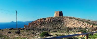 Widok mesy Roldan, Hiszpania fotografia royalty free