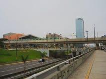Widok metro, Lima Fotografia Stock