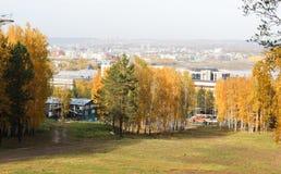 Widok miasto Zdjęcia Royalty Free
