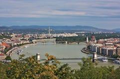Widok miasto Budapest fotografia royalty free