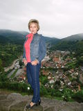 Widok miasto Gernsbach Obraz Stock