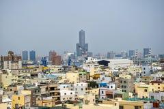 Widok miasto Kaohsiung obrazy stock
