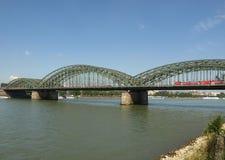 Widok miasto Koeln obraz royalty free
