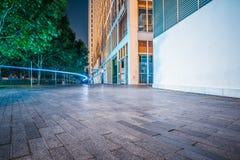 Widok miasto kwadrat w Szanghaj Zdjęcie Royalty Free