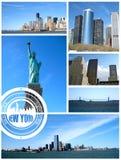 Widok Miasto Nowy Jork Fotografia Royalty Free