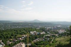 Widok miasto Pyatigorsk w Rosja fotografia stock