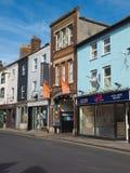 Widok miasto Salisbury obrazy stock