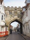Widok miasto Salisbury zdjęcie stock