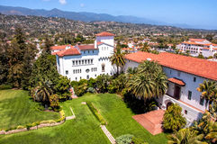 Widok miasto Santa Barbara, Kalifornia, usa Zdjęcia Royalty Free