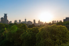 Widok miasto Szanghaj Zdjęcie Royalty Free