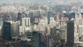 Widok Miastowa scena w Szanghaj, Szanghaj, Chiny zdjęcie wideo