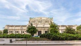 Widok Milano Centrala sztachetowa stacja zdjęcia stock
