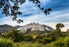 Widok Mojacar wioska obrazy royalty free