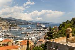 Widok Monaco fotografia stock