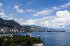 Widok Monaco Obraz Stock