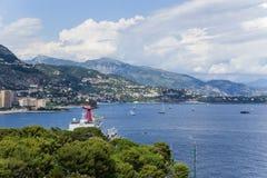 Widok Monaco Zdjęcia Stock
