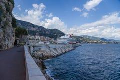 Widok Monaco Obrazy Stock