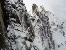 Widok Mont Blanc, Chamonix, Francja Obraz Royalty Free