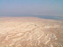 widok morza martwego Zdjęcie Stock