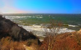 Widok morze Zdjęcia Stock