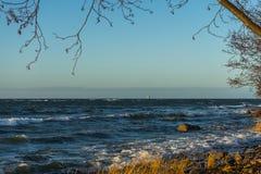 Widok Morze Bałtyckie Zdjęcie Royalty Free