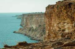 Widok morze i góra Zdjęcie Stock