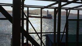 Widok morze od chałupy zdjęcie wideo