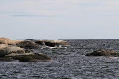 Widok morze w Norway Zdjęcia Stock