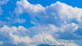 Widok Mt Fuji z chmurnym zdjęcie wideo