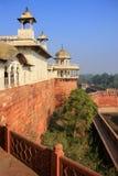 Widok Musamman Burj w Agra forcie, Uttar Pradesh, India Zdjęcie Royalty Free