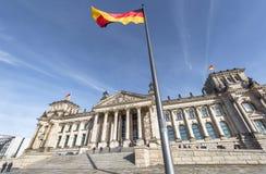 Widok na Bundestag budynku Zdjęcia Stock