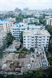 Widok na Dhaka, Gulshan okrąg 2 od Westin hotelu - Obrazy Royalty Free