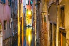 Widok na historycznej architekturze i kanale obrazy stock