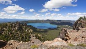 Widok na kalderze od Paulina szczytu Obraz Stock