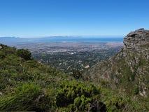 Widok na Kapsztad od Stołowej góry Obrazy Stock