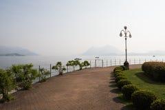 Widok na Lago Maggiore Fotografia Stock