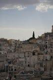 Widok na Matera Zdjęcie Royalty Free