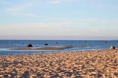 Widok na morzu bałtyckim Zdjęcia Royalty Free