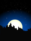 widok na noc Fotografia Royalty Free