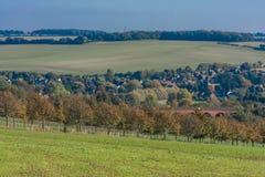 widok na obszarach wiejskich Fotografia Stock