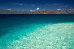 widok na ocean Fotografia Royalty Free
