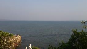 Widok na ocean Goa obraz stock