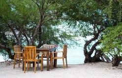 Widok Na Ocean taras - Akcyjny wizerunek zdjęcia royalty free
