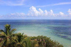 Widok na ocean w Floryda Fotografia Stock