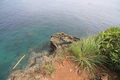 Widok na ocean w Indonezja Fotografia Royalty Free