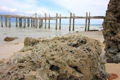 Widok na ocean w Indonezja Zdjęcia Royalty Free